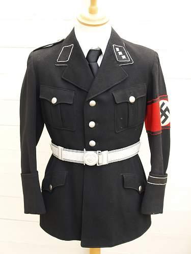 Allg SS officers Belt