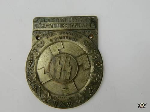 ss car badge