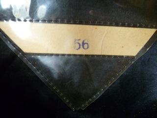 fake black SS senior leader cap, old stinker in complete preservation.
