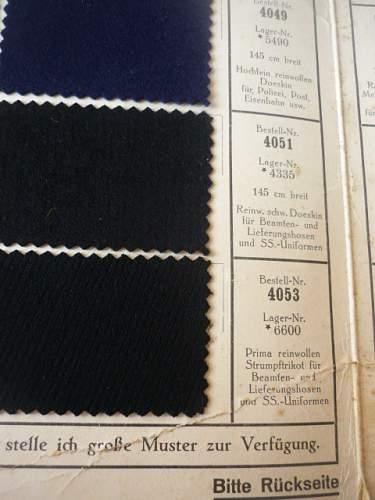 Black SS helmet, in early Schuma service.