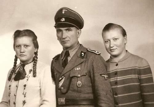 Croatian SS badge