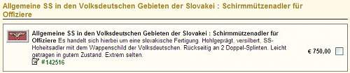 Click image for larger version.  Name:Slovak SS - Weitze 750,- Euro C.jpg Views:75 Size:31.2 KB ID:748239