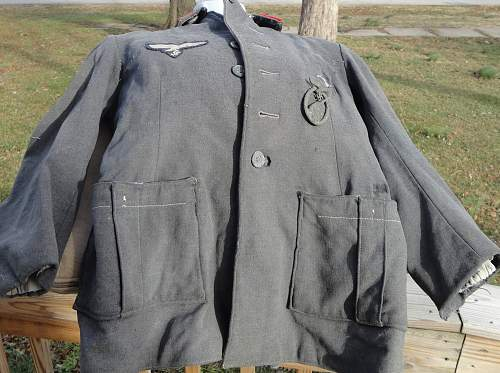 SS POW tunic