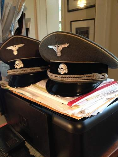 SS Officers Visor?