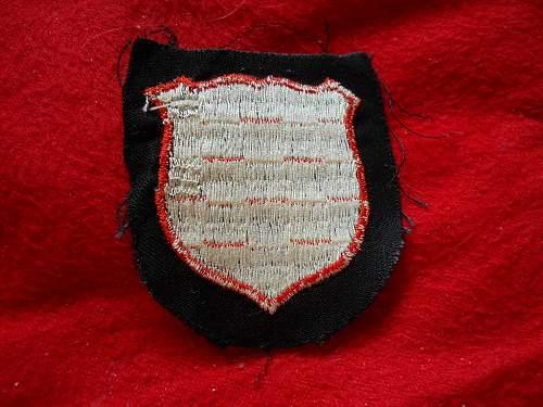 Croatian Shield 1st pattern new acquisition