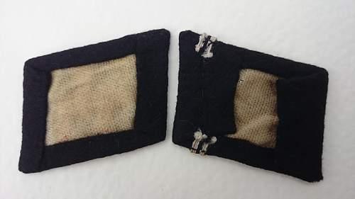 SS Sturmmann insignia group matching set