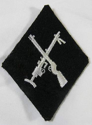 SS Armourer Patch references needed