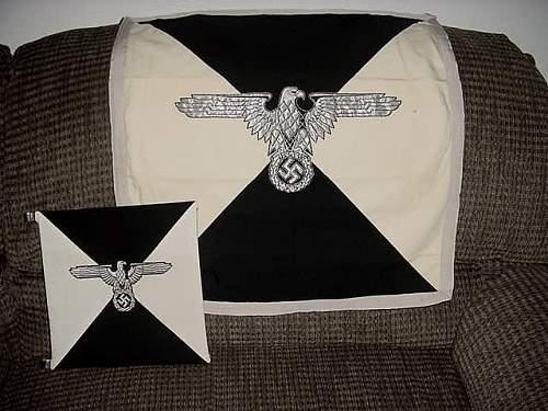 Himmler's Vehicle Flag