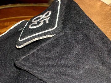 Black SS cap, restoration of RZM tag.