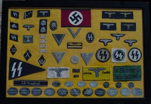 Some of my SS insignia...Enjoy! More to come...