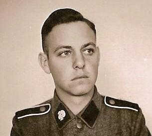 Pumkin head SS Totenkopf collar tab