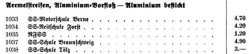 Click image for larger version.  Name:Ärmelstreifen_Schulen_Preisliste_1936.JPG Views:151 Size:28.8 KB ID:778261