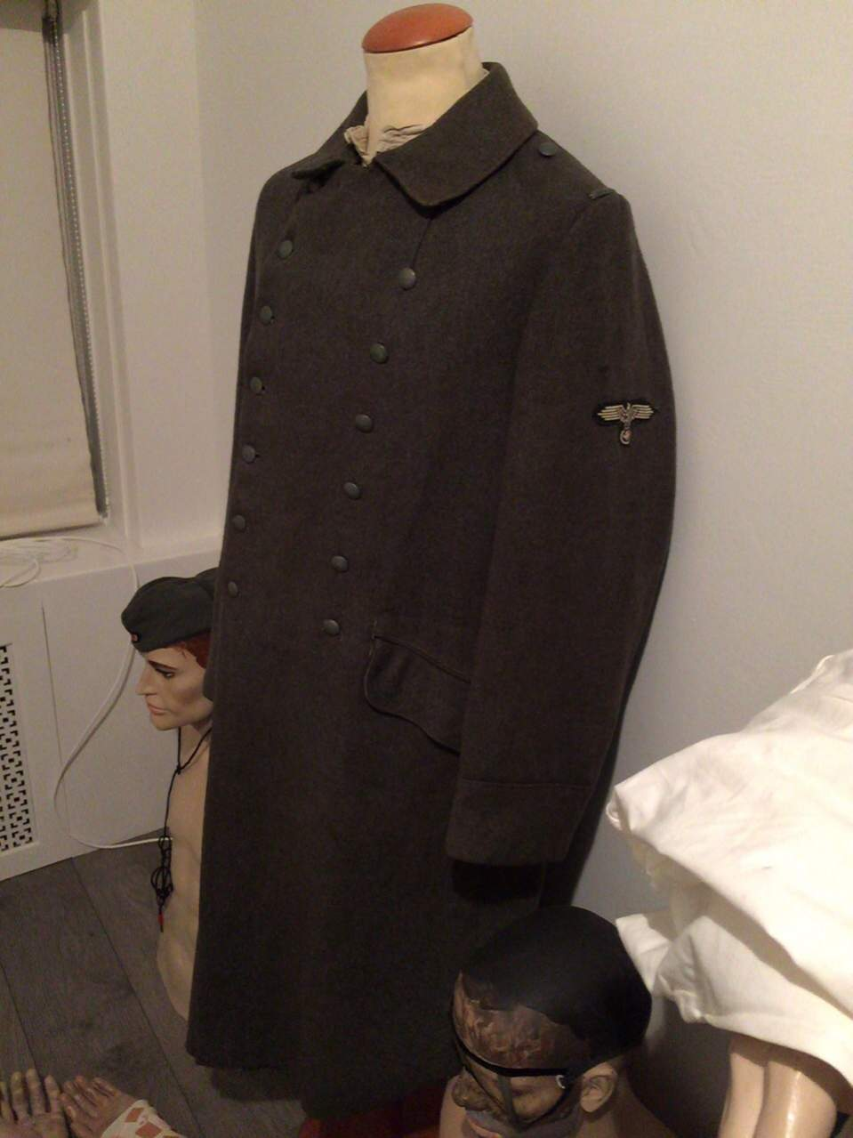 Waffen Ss Coat Dutch Coverted