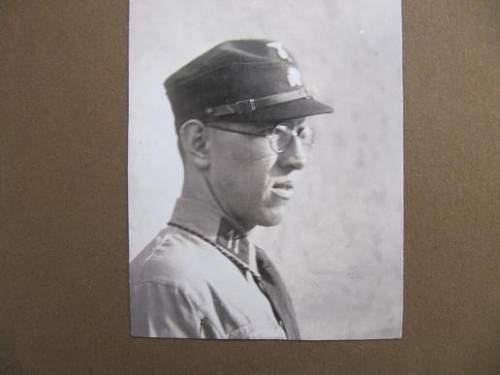1933 or 1934 LAH collar patch.