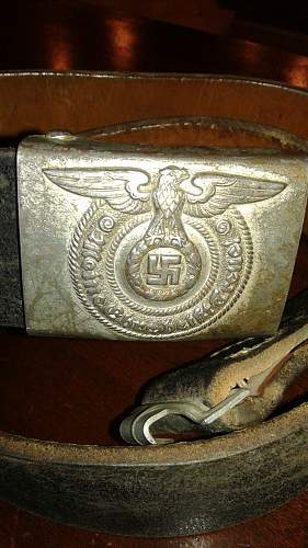 scored vet bring back ss buckle and belt