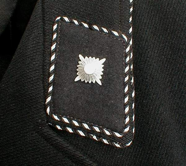 SS medical collar tab?
