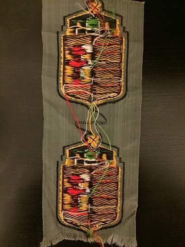 Hungarian volunteer sleeve insignia