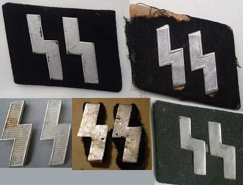 Latvian SS runes