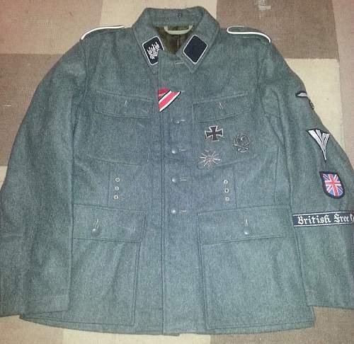 Need opinions on British Free Corp SS tunic...