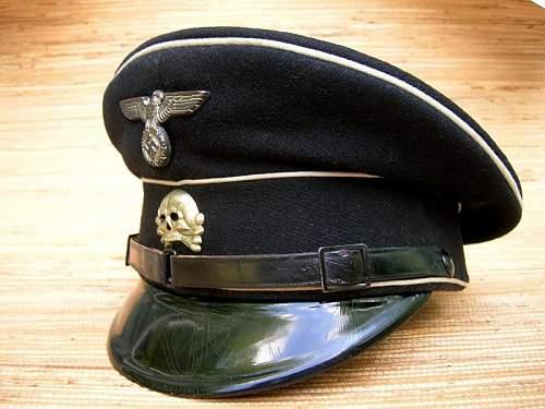 Black SS cap w/o RZM/SS marks