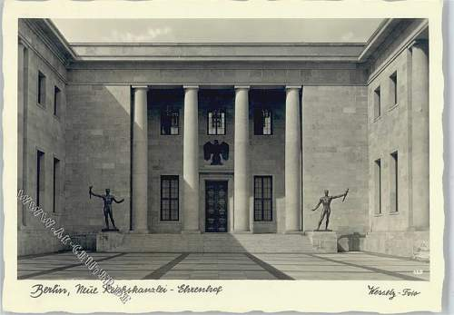 Changing of the Guard at the Reichskanzlei