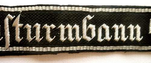 An uncommon cuff title