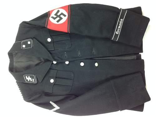 "schwarzer Rock, SSVT  ""Germania"""