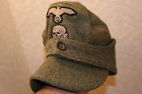 M43 SS Cap With Insignia.