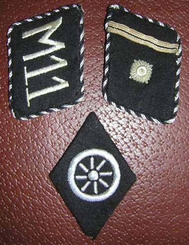 SS Sleeve Insignia