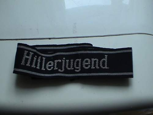 Hitlerjugend cuff title
