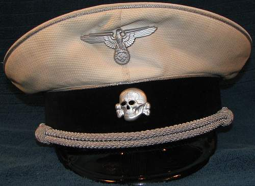 Click image for larger version.  Name:Karl Wolff's White top visor cap.jpg Views:69 Size:180.4 KB ID:802554