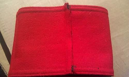 SS wool armband w/ cloth tag (possible fake)
