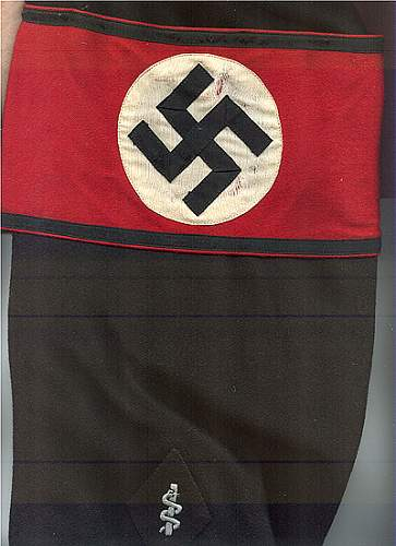 Two SS armbands for consideration