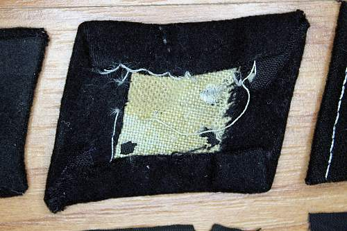 SS Totenkopf Collar Tab, SS Tropical Sleeve Eagle and Panzer BeVo Breast Eagle