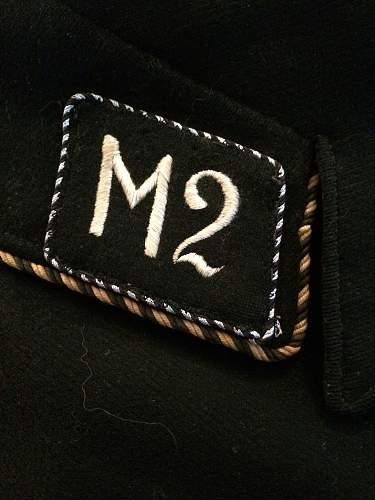 A-SS Insignia Set with pre 34 Collar tabs and Shoulderboard