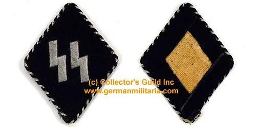 Germanische SS Sleeve Diamond