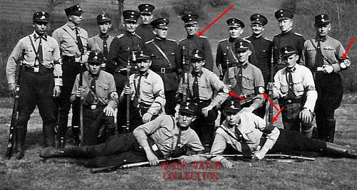 Theory:  SS as auxillary police, ca. 1933