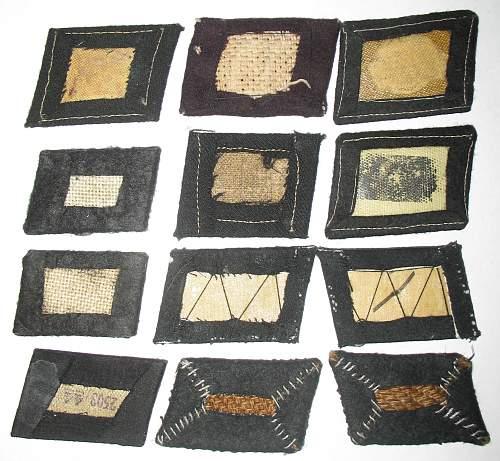 SS Collar tabs / pair of shoulder boards / sleeve diamond