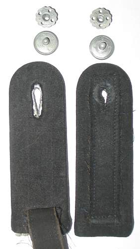 SS Collar tabs / pair of shoulder boards / sleeve diamond