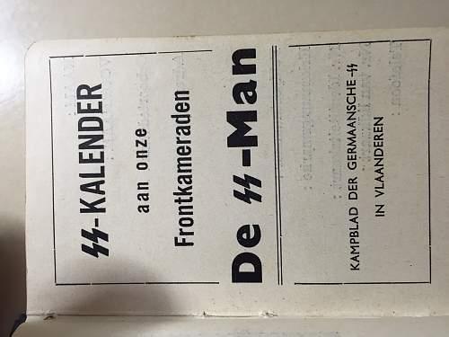 Delich Flemish SS Kalendarium