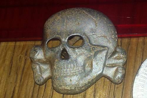 SS M1/24 Visor Cap Skull - Original/Fake?