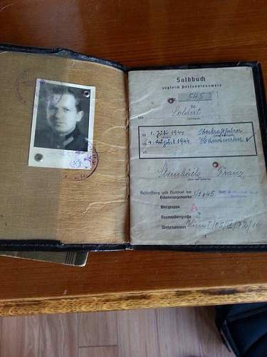 SS storm leader (lieutenant) (untersturmfuhrer) collar tab