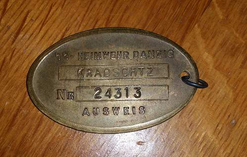 SS Warrant Disk