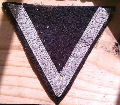 Waffen SS -Sturmmann Sleeve rank
