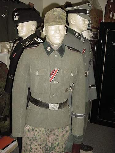 Interesting Totenkopf Tunic