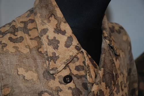 SS camouflage panzer wrapper - ask for help