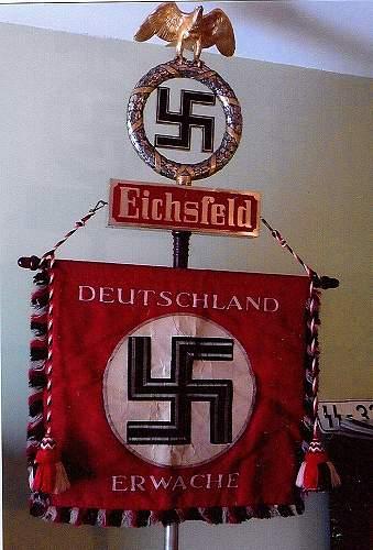 Delich Treasure,  SA Feldzeichen