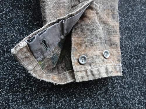 Waffen-SS zeltbahn Jacket??