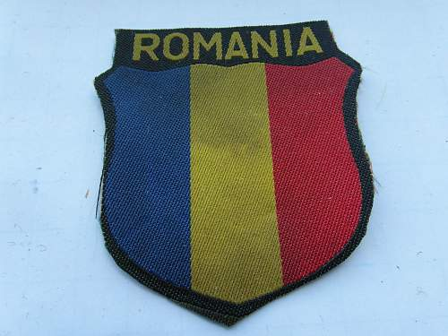 Slovak and Romanian Volunteer Shields real or fake ??