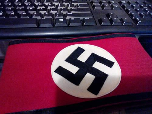 SS armband. real or fake?